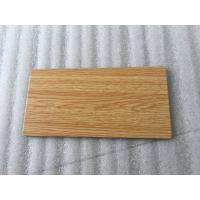Buy cheap Wooden Colors Aluminum Sandwich Panel , High Strength Aluminum Laminated Panels  product