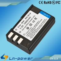 Buy cheap Replacement Digital Camcorder Battery for NIKON Camera EN-EL9 from wholesalers