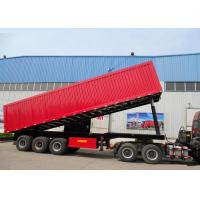 Buy cheap High Efficiency 3X16 TONS Semi Tipper Trailer Dump Truck For Mining Industry from wholesalers