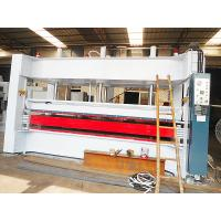 Buy cheap 6 Opening Plywood Hot Press Machine For Foam Polyurethane Coreboard from wholesalers