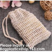 Buy cheap 100% Cotton Mesh Handle Shopping Bag,Reusable Short Handles Custom Printed Shopping Cotton Net Bag, bagease, bagplastics from wholesalers
