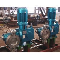 Buy cheap Hydraulic Diaphragm Metering Pump With Variable Speed High Pressure 2000LPH 10Bar from wholesalers
