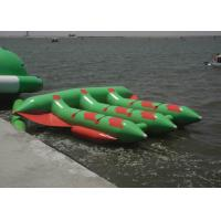 Buy cheap Tarpaulin Inflatable Flying Fish Rafts , Inflatable Water Tubes For Lake from wholesalers