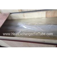 Buy cheap Plain / Beveled / Treaded End Copper Nickel Tubes , smls CuNi 90/10 Pipe from wholesalers