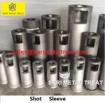 Plunger sleeve for aluminum die casting shot sleeve