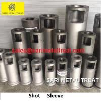 Plunger sleeve for aluminum die casting shot sleeve