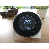 Buy cheap Round touch screen thermostat/wired controller/ from wholesalers