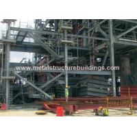 Buy cheap ASTM Steel Prefab Steel Frame Structure Building With International Paint from wholesalers
