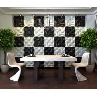 Buy cheap Hotel Hallways Decorative Interior / Exterior 3D Wall Panels for Entertainment from wholesalers