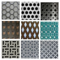 Buy cheap Powder Coated Perforated Punching Copper Grill Metal Mesh Screen Grid Sheet Price from wholesalers