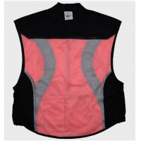 Buy cheap Hi vis fluorecent pink / yellow Reflective Cycling Clothing , bicycle safety vest product