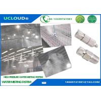Anti Drip High Pressure Water Mist Nozzles High Pressure Nozzle With Ceramic Orifice