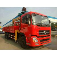 Buy cheap 6x4 Drive Mode 10T Truck Mounted Crane / Construction Crane Truck With Cummins Engine from wholesalers