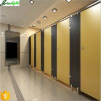 Buy cheap Bathroom stalls compact hpl panels with Matt surface from wholesalers