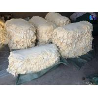 Buy cheap 4.00sqft Fish Oil Tanned Sheep Skin Genuine Chamois Leather Car Washing from wholesalers