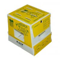 Buy cheap Foldable Corrugated Plastic Boxes In Cold Storage , Asparagus Boxes from wholesalers