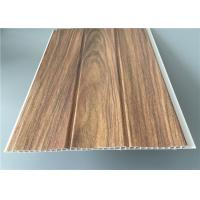 Buy cheap Three Groove Pvc Wall Panels For Office Easy Install Anti Bacterial 25 Cm*8 M from wholesalers