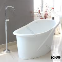 Buy cheap Sanitary Ware Solid Surface Bathtub , Freestanding Acrylic Bathtub from wholesalers