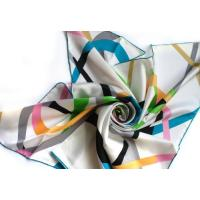 Buy cheap DX0912-2 100% silk printed scarf(14m/m 90*90cm) from wholesalers