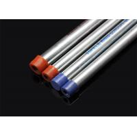 Buy cheap BS 4568 / BS 31 Hot Dip Galvanized Conduit Pipe With Screwed Ends And Caps from wholesalers