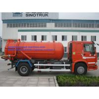 Buy cheap 17CBM LHD 336HP Transporting Sewage Septic Tank Cleaning Truck / Septic Pumping Truck Sinotruk howo7 from wholesalers