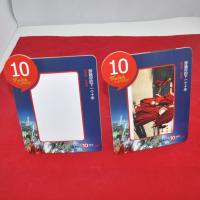Buy cheap Guangdong frames customized size/shape/logo printable paper photo frame bulk from wholesalers