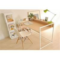 Buy cheap Pretty Modern Furniture Table Wood And Metal Computer Desk For Students from wholesalers