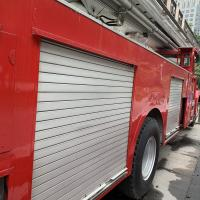 Buy cheap Aluminum Rolling Shutter Door Red And White For Fire Fighting Truck from wholesalers