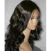 Buy cheap European Human Hair Lace Front Wigs from wholesalers