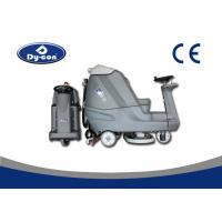 Buy cheap Blue Color Reconditioned Ride On Floor Scrubbers Machine , Wet Floor Cleaning Machines product