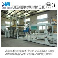 Buy cheap Plastic Tray PP Sheet Extrusion Line Thermoforming 0.15 - 1.5MM High Efficiency from wholesalers