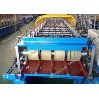 Buy cheap 7.5Kw Driving Motor Sheet Metal Roofing Machine Customized High Performance from wholesalers