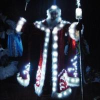 Buy cheap LED light-up Santa suit for Christmas and evening party from wholesalers