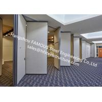 Buy cheap PVC Panel Folding Doors Soundproof Sliding Accordion Partition Doors For Conference Room from wholesalers