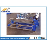 Buy cheap 1219mm PLC Rolling Shutter Making Machine with Quenched shaft from wholesalers