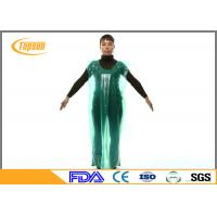 Buy cheap PE Disposable Medical Aprons Plastic Gown Without Sleeves For Hospital / Industrial from wholesalers