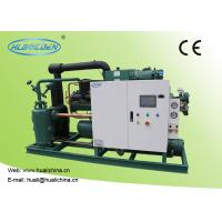 Buy cheap Food Low Temperature Chiller , Cold Room Storage Water Cooled Condensing Unit from wholesalers