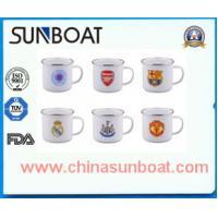 Buy cheap hot selling cast iron customized color painted enamel travel mug product