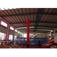 China Event Party Inflatable Advertising Signs Blow Up Air Dancers Digital Printing 6m H on sale