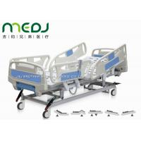 Buy cheap Electric Control Medical Hospital Beds MJSD04-08 With 4 - Section ABS Guardrail from wholesalers