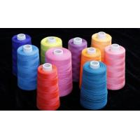 Buy cheap High Elasticity 100 Spun Polyester Sewing Thread Soft Hand Feeling Friction Resistant from wholesalers