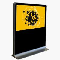 Buy cheap Cold Rolled Steel Horizontal Touch Screen Kiosk , Lcd Advertising Machine product