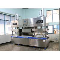 Buy cheap Semi Auto Paper Pulp Molding Take Away Fast Food Box Making Machine 700 Pcs / Hour from wholesalers