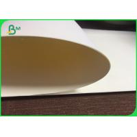 China 60 gsm 70gsm 80gsm Cream Woodfree Offset Paper , Anti Water Offset Printing Paper on sale