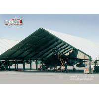 Buy cheap Special Fabric Aircraft Hangar Tent 30M Width With Glass Wall from wholesalers