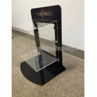 Buy cheap Metal Acrylic Retail Accessories Display Countertop Jewelry Display Case With Lock from wholesalers