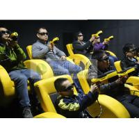 Buy cheap Shopping Mall Mini 7D Movie Theater With Shooting Gun Game Interactive Cinema product