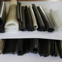 Buy cheap high quality hot sale Swell anti fire seal gaskets silicone extruded rubber protective strip product