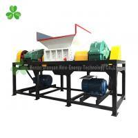 Buy cheap Four Shaft Used Tire Shredder , Truck Tyre Shredder Driven By Double Hydraulic Motors from wholesalers