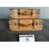 Buy cheap Handicraft Wooden Storage Trunk from wholesalers